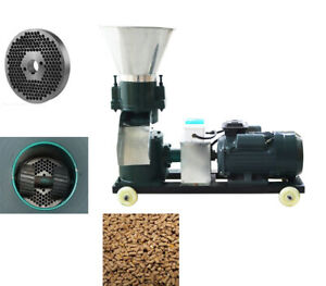 220v 6mm Chicken Feed Pellet Mill Machine Continuous Output Pelletizer Top sales