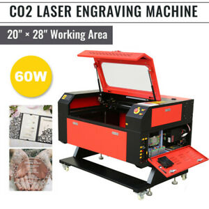 60w 28 X 20 Co2 Laser Engraving Cutting Carving Engraver Cutter Ruida
