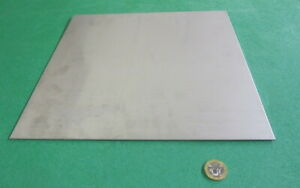 304 Stainless Steel Sheet Annealed 075 Thick X 12 Wide X 12 Length