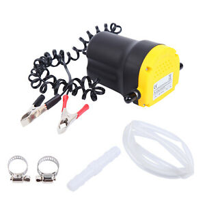 5a 12v Oil Diesel Fluid Extractor Electric Transfer Scavenge Suction Pump