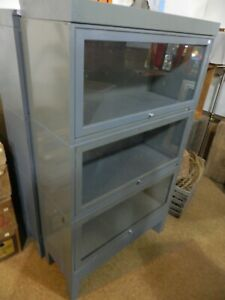 3 Metal Stacking Bookcases Lawyer S Barrister S 3 Units Each