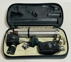 Welch Allyn 71050 c Ophthalmoscope Set Untested No Battery