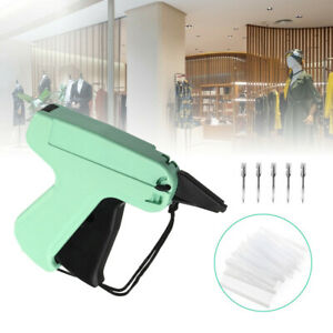 New Garment Clothing Price Label Tagging Tag Tagger Gun With 2000 Barbs 5 Needle