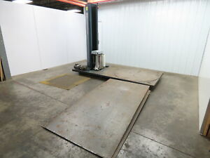 Wulftec Wlp 150 Pallet Skid Stretch Wrapper Machine Shrink Wrap 120v 58 Table