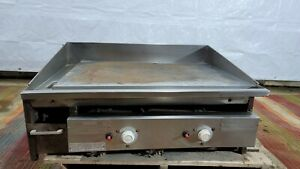 Keating Miraclean Gas Grill Flat Top 36bfld 24 By 33 Commercial Griddle Csp