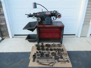 Ammco 4000 Disc Drum Brake Lathe With Tooling Bench