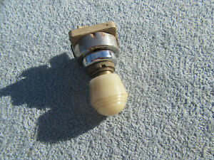 Nice 1930s 1940s 1950s Ford Accessory Under Dash Heat Switch Heater