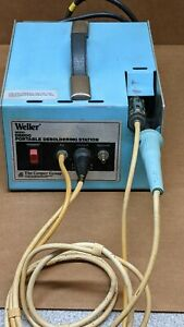 Weller Ds600 Portable Desoldering Station W Iron Ds601p
