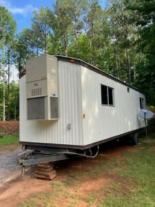 Mobile Office Airplane Hangar Office Hunting Lodge Job Site Office Trailer