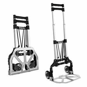 Us 170lb Cart Folding Great Collapsible Trolley Push Hand Truck Moving Warehouse