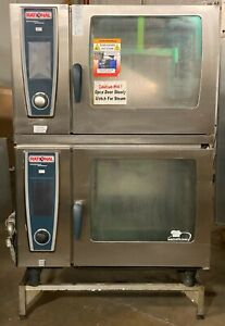 Rational Scc We 62 Sccwe62 Self Cooking Center Double Stack Electric Combi Oven