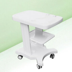 Portable Mobile Trolley cart For Patient Monitor Ultrasound Scanner W 2 Brakes