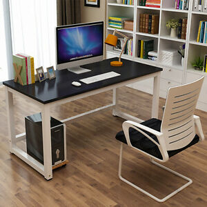 Computer Desk Pc Gaming Laptop Table Study Workstation Home Office Furniture Ss