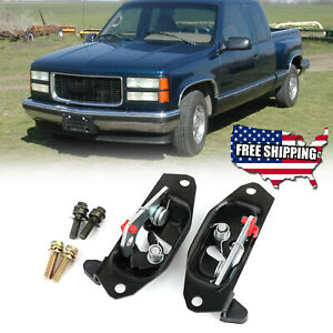 New Tailgate Latch Lock Set Fits Chevy Silverado Sierra 1999 2007 15921948 Ee Fits More Than One Vehicle
