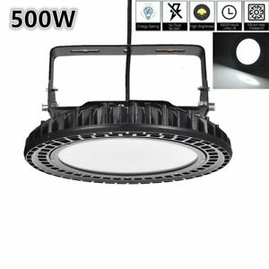 500w Ufo Led High Bay Light Bright Warehouse Industrial Light Fixture 50000lm