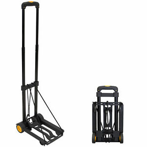 Mount it Folding Luggage Cart And Dolly 77 Lb Capacity