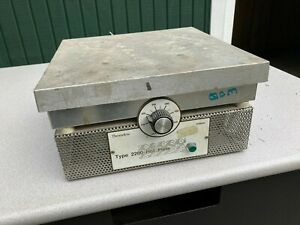 Working Thermolyne By Sybron Aluminum Top Laboratory Hot Plate Type 2200