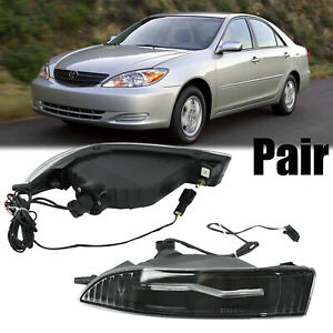For Toyota Corolla 2001 2008 Camry 2002 2004 Front Led Fog Light Lamp Assembly Fits 2004 Corolla