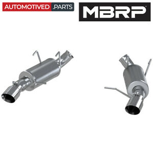 Mbrp S7225al Armor Lite Axle Back Exhaust For 2011 2014 Ford Mustang Gt 5 0l V8