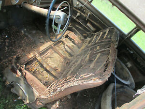 1948 Buick Super 2 Door Sedanette Fast Back Club Coupe Front Seat Core