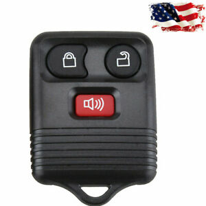 1pc 3 Button Remote Control Fob Keyless Cover Replace Keys For Ford Shell Case