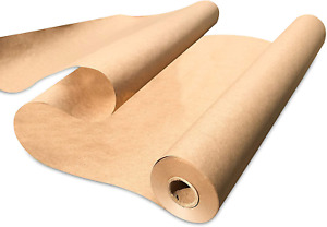 Kraft Paper Wide Jumbo Roll 100 Ft For Wrapping Craft Packing Floor Protection