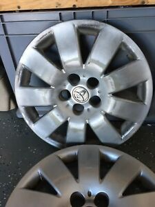Wheel Cover Hubcap 15 9 Spoke Le Fits 03 04 Corolla 1 Available Gray Worn