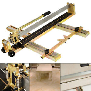 80cm Laser Guide Manual Tile Saw Machine Marble Wall Floor Tiles Cutter Tool