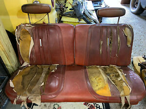 1968 1969 1970 Dodge Charger Coronet Plymouth Roadrunner Gtx Bench Seat Tracks