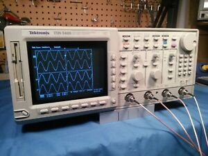 Tektronix Tds540b 4 Channel 500mhz 2gs s Oscilloscope Complete With Probes