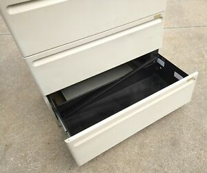 3 Drawer Lateral File Cabinet Or Storage Unit For Stuff Sporting Goods Tools Etc