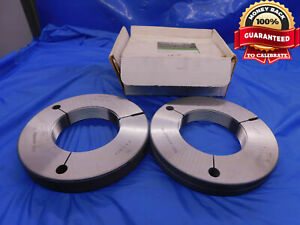 3 912 12 Uns Special Thread Ring Gages Go No Go P d s 3 8633 3 8565 3 9120