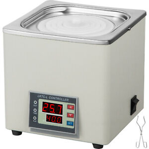 Lab Water Bath Digital Thermostatic 300w Single Hole 3l Stainless Steel 99 Max