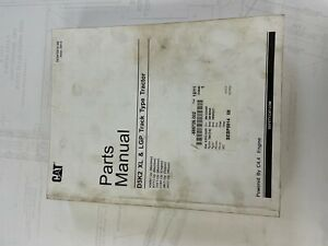 Cat D5k2 Track Type Tractor Parts Manual