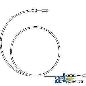 Cable 81870803 Fits Ford New Holland 5640 6640 7740 7840 7840o 8240 8340