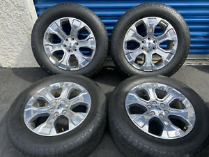 20 Inch Ford F 150 Oem Stock Factory Expedition Wheels Rims W Tires Hankook