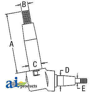 Spindle A149613 Fits Case 430 470 530 570