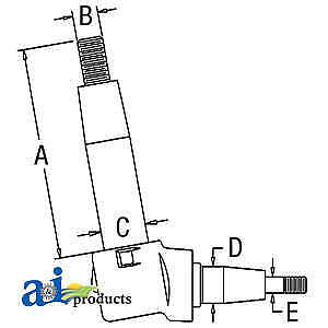 Spindle A149614 Fits Case 430 470 530 570