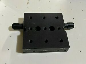 Newport Thorlabs Dovetail Linear Stage 1 travel Fast drive 20 Tpi Screw Tsx 1d