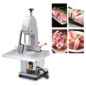1500w Commercial Electric Bone Saw Machine Frozen Meat Fish Cutting Cutter 110v