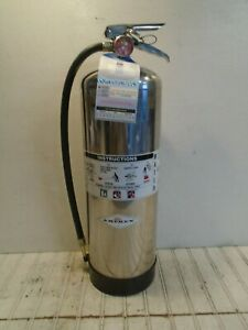 Amerex Fire Extinguisher Model 240 Fdny Tagged 2020 2 1 2 Gal Water Can Empty