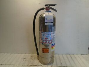 Badger Fire Extinguisher Model Wp61 Fdny Tagged 2020 2 1 2 Gal Water Can Empty