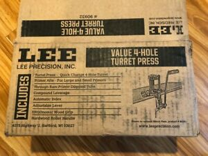 Lee 4 Hole Value Turret Press with Auto Index $88.95
