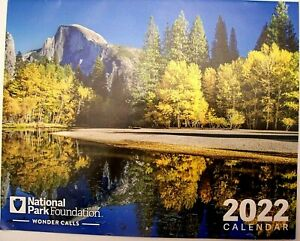 2022 Wall Calendar National Parks 12 Month 8 1 2 X 11 Buildings Nature