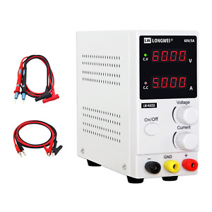 Dc Power Supply Variable 60v 5a adjustable Regulated Switching Power Supply With