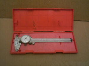 Mitutoyo 505 633 Metric Dial Caliper 0 150mm 0 05mm Graduation With Case