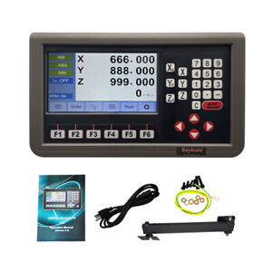 3 Axis 2 Axis Lcd Metal Shell Digital Readout Dro Display For Mill lathe Machine