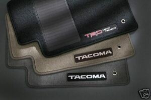 Toyota Tacoma 2005 2007 Oak Carpet Floor Mats Oem New