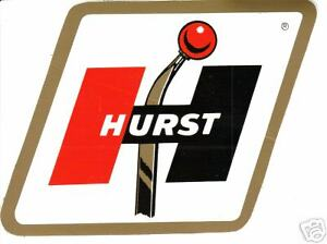Hurst Vinyl Sticker A018