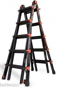 22 1a Little Giant Ladder Pro Series W Wheels New